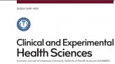 Clınıcal And Experımental Health Scıences