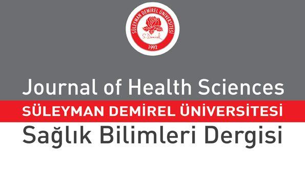 SDÜ-sağlık bilimleri enstitüsü dergisi