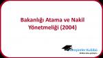 Sağlık Bakanlığı Atama ve Nakil Yönetmeliği (2004)
