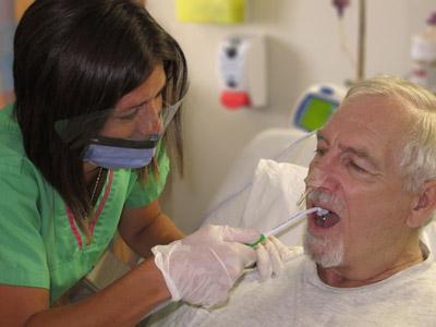 oral mukoz membranda bozulma